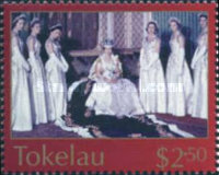 [The 50th Anniversary of Coronation of Queen Elizabeth II, type LX]