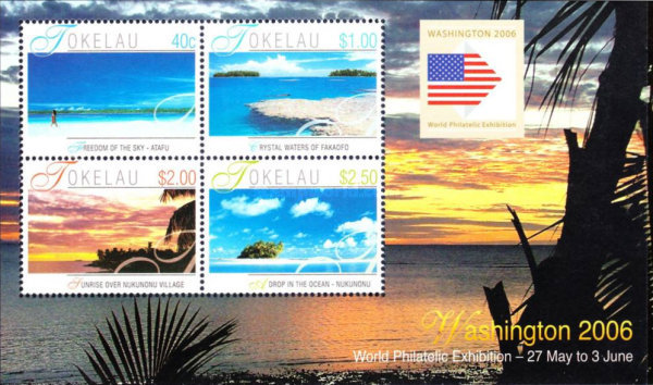 [International Stamp Exhibition WASHINGTON 2006, Typ NC]