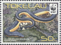 [WWF - Yellow Bellied Sea Snake, Typ OU]