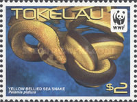 [WWF - Yellow Bellied Sea Snake, Typ OW]