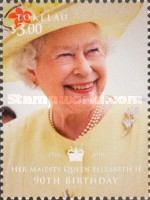 [The 90th Anniversary of the Birth of Queen Elizabeth II, Typ RY]