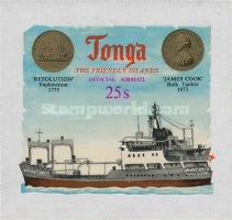 [Airmail - The 200th Anniversary of the Arrival of Captain James Cook - Self-Adhesive, type AB]