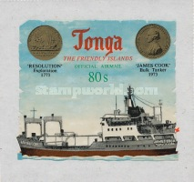 [Airmail - The 200th Anniversary of the Arrival of Captain James Cook - Self-Adhesive, type AB1]