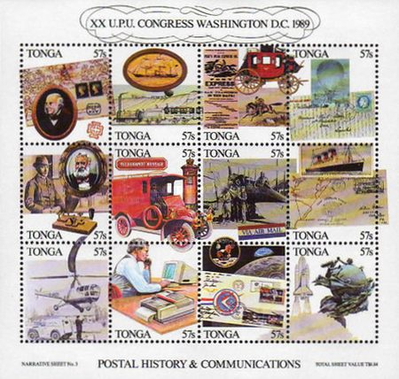 [Universal Postal Union Congress, Washington and History of Postal and Telecommunications Services, type ]
