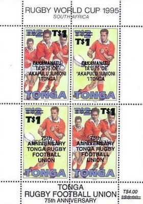 [The 75th Anniversary of Tongan Rugby Union, type ]