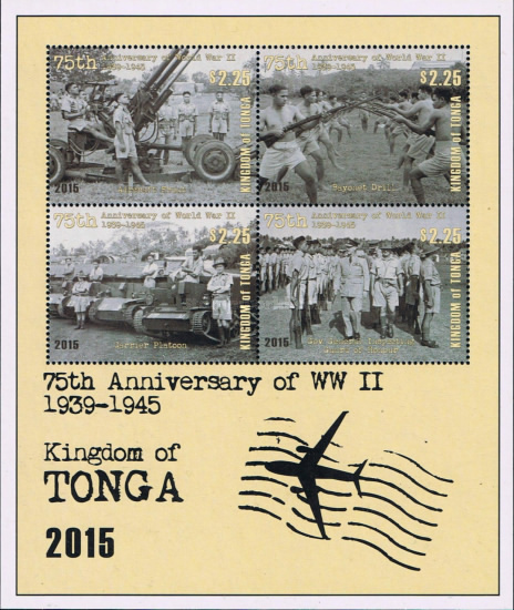 [The 75th Anniversary of World War II 1939-1945, type ]