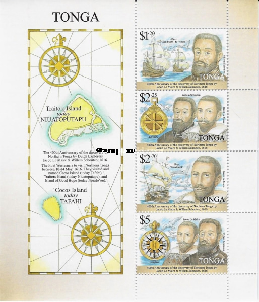 [The 400th Anniversary of the Discovery of Northern Tonga, type ]