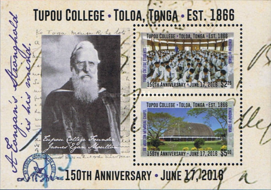 [The 150th Anniversary of Tupou College, type ]