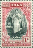 [The 25th Anniversary of the Accession of Queen Salote, type AF]