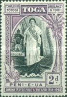 [The 25th Anniversary of the Accession of Queen Salote, type AG]
