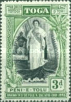 [The 25th Anniversary of the Accession of Queen Salote, type AH]