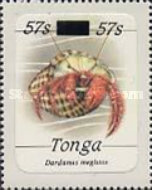 [Marine Life - Stamps of 1984 Surcharged, type AHK]
