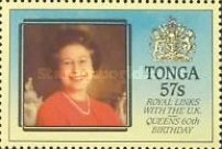 [Royal Links with Great Britain and the 60th Anniversary of the Birth of Queen Elizabeth II, type AHP]