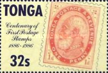 [The 100th Anniversary of First Tonga Stamps, type AHX]