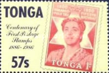 [The 100th Anniversary of First Tonga Stamps, type AHZ]