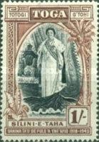 [The 25th Anniversary of the Accession of Queen Salote, type AJ]