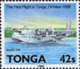 [History of Aviation and the 50th Anniversary of Regular Flight Connections to Tonga, type ANB]