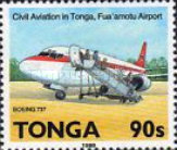 [History of Aviation and the 50th Anniversary of Regular Flight Connections to Tonga, type AND]
