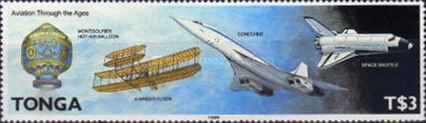 [History of Aviation and the 50th Anniversary of Regular Flight Connections to Tonga, type ANE]