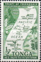 [The 50th Anniversary of Treaty of Friendship between Great Britain and Tonga, type AR]
