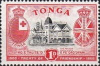 [The 50th Anniversary of Treaty of Friendship between Great Britain and Tonga, type AS]