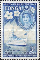 [The 50th Anniversary of Treaty of Friendship between Great Britain and Tonga, type AU]
