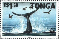 [Worldwide Nature Protection - Humpback Whale, type AYY]
