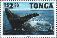 [Worldwide Nature Protection - Humpback Whale, type AYZ]