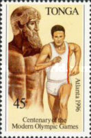 [The 100th Anniversary of Modern Olympic Games and Olympic Games - Atlanta, USA, type AZV]