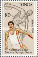 [The 100th Anniversary of Modern Olympic Games and Olympic Games - Atlanta, USA, type AZW]