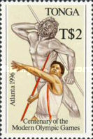 [The 100th Anniversary of Modern Olympic Games and Olympic Games - Atlanta, USA, type AZX]