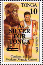 [Silver Medal Winners of Olympic Games - Atlanta, USA 1996, type BBH]