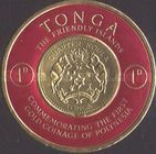 [First Polynesian Gold Coinage Commemoration, type BY]