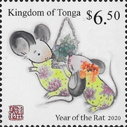 [Chinese New Year 2020 - Year of the Rat, Typ CAP]
