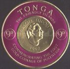 [First Polynesian Gold Coinage Commemoration, type CB]