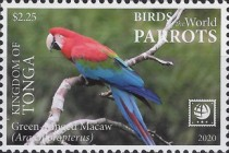 [Birds of the World - Parrots, type CBJ]