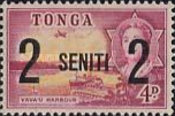[Various Stamps Surcharged, type FV]