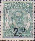 [Issue of 1892 Surcharged in Black, type G1]