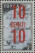 [Various Stamps Surcharged, type GD]