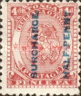 [Issue of 1892 Overprinted in Black, type H]
