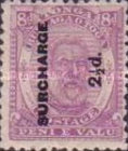 [Issue of 1892 Overprinted in Black, type H2]