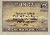 [Airmail - South Pacific Games Field and Track Trials, Port Moresby, type HJ]