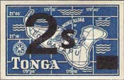 [Emergency Provisionals - Various Stamps Surcharged, type HO]