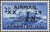 [Airmail - Emergency Provisionals - Various Stamps Surcharged, type HR]