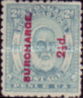 [Issue of 1892 in New Colors and Surcharged, type I3]
