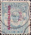 [Issue of 1892 in New Colors and Surcharged, type I4]