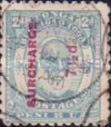 [Issue of 1892 in New Colors and Surcharged, type I5]