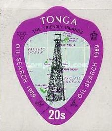 [The 1st Oil Search in Tonga, type IL]