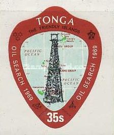 [The 1st Oil Search in Tonga, type IN]
