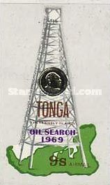 [Airmail - The 1st Oil Search in Tonga, type IO]